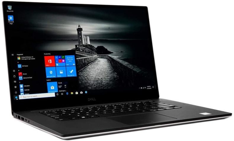"New XPS 15 7590 The World's Smallest 15.6"" Performance Laptop with 4K UHD InfinityEdge Touch Display 9th Gen i9-9980HK GTX 1650 4GB Pluse Best Notebook Stylus Pen Light (2TB SSD