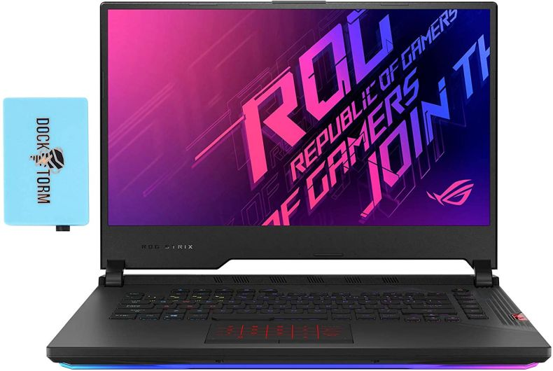 """ASUS ROG Strix SCAR 15 G532LWS Gaming and Entertainment Laptop (Intel i9-10980HK 8-Core, 32GB RAM, 1TB PCIe SSD, NVIDIA RTX 2070 Super, 15.6"""" Full HD (1920x1080), Wifi, Bluetooth, Win 10 Pro) with Hub"""
