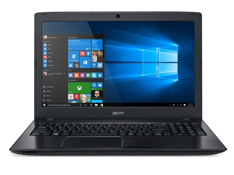 Acer Aspire E 15 E5-575G-57D4 15.6-Inches Full HD Notebook (i5-7200U, 8GB DDR4 SDRAM, 256GB SSD, Windows 10 Home), Obsidian Black