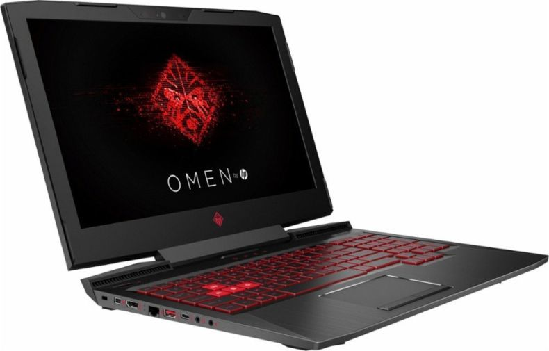 "OMEN 17t HP Gaming machine 17.3"" FHD IPS (1920 x 1080) Display Intel Core i7-7700HQ 12GB Ram 1TB HDD AMD Radeon RX580 8GB GDDR5 dedicated Win 10 + Best Notebook Custom Stylus Pen Light"