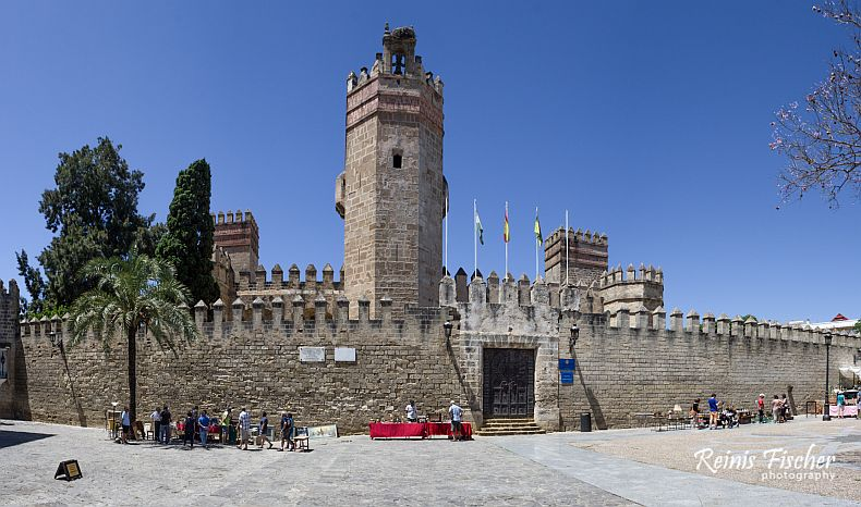 Front view of Castle of San Marco