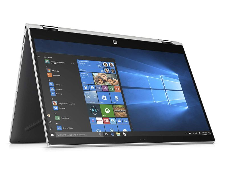 "New HP Pavilion X360 15.6"" Full HD Touschscreen 2-in-1 Laptop Core i3-8130U 20GB (4GB DDR4+16GB Optane) Memory 1TB HDD HP Digital Pen Windows 10"