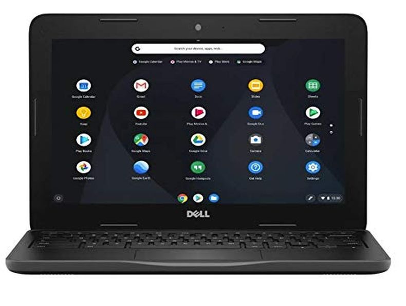 "Dell Inspiron 11 Chromebook , 11.6"" HD Non-Touchscreen Display, Intel Celeron Dual Core N3060 Processor, 4GB Ram, 16GB eMMc Flash Memory, WiFi, HDMI, USB3.0, Chrome OS"