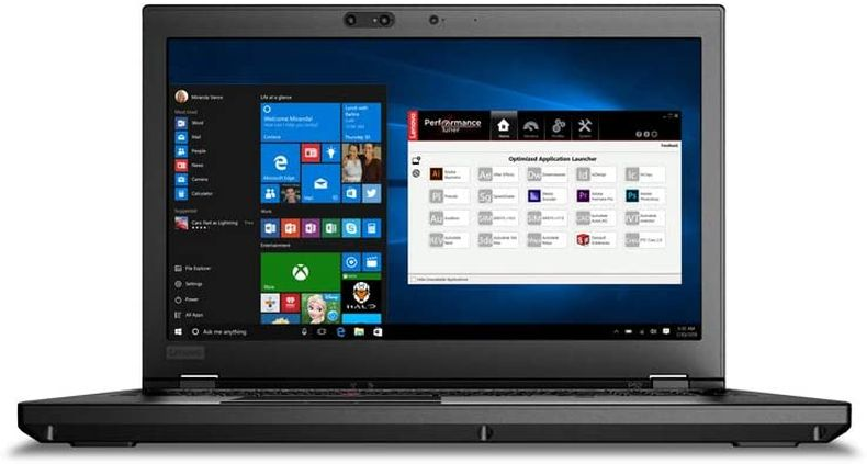 Lenovo ThinkPad P52 Laptop 15.6 inch FHD (1920x1080) IPS Intel Core i7-8850H (8th Gen) NVIDIA Quadro P2000 4GB GDDR5 32GB 1TBGB SSD M.2 Win10 Pro (32GB RAM | 1TB SSD)