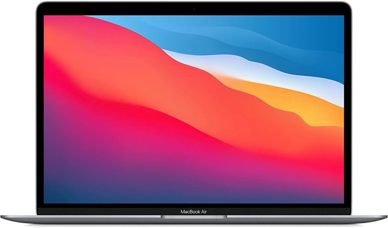 Apple MacBook Air with Apple M1 Chip (13-inch, 8GB RAM, 256GB SSD Storage) - Space Gray