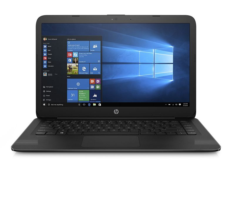 HP 14 Inch Stream Laptop, Intel Celeron N3060 Processor, 4GB RAM, 32GB SSD, 1-year Office 365 Personal included, HDMI