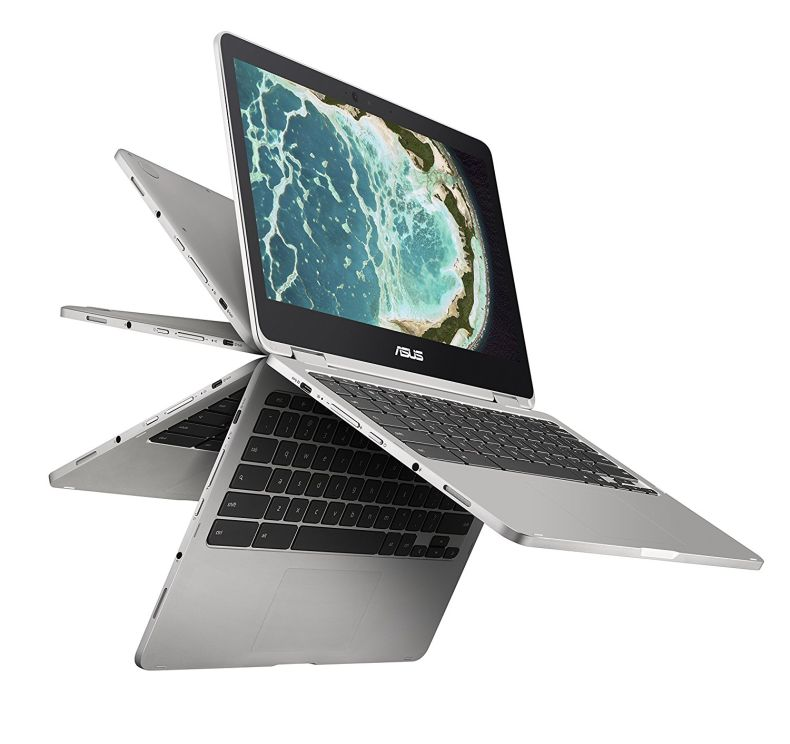 ASUS Chromebook Flip C302 with Intel Core m3, 12.5-Inch Touchscreen, 64GB storage and 4GB RAM
