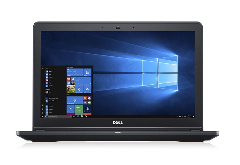 "Dell Inspiron Gaming Laptop - 15.6"" Full HD, Core i7- 7700HQ, 8 GB RAM, 1000 GB HDD + 128GB SSD, GTX 1050, Metal Chassis - i5577-7359BLK-PUS"
