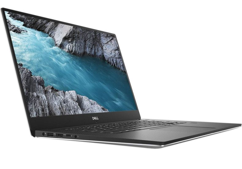 """Dell XPS 15 9570 15.6"""" Touchscreen InfinityEdge 4K Ultra HD Laptop - 8th Gen Intel Core i7-8750H Processor up to 4.10 GHz, 32GB Memory, 1TB SSD, 4GB NVIDIA GeForce GTX 1050 Ti, Windows 10 Pro, Silver"""