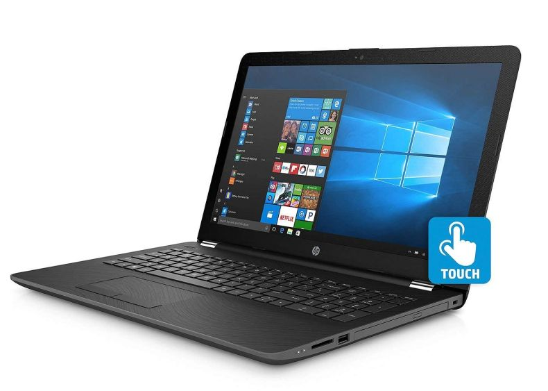 "HP Touchscreen Flagship 15.6"" HD Backlit Keyboard Laptop PC, 8th Gen Intel Core i5-8250U Quad-Core, 8GB DDR4, 2TB HDD + 128GB SSD, DVD, Bluetooth, 802.11ac, Media Reader, Windows 10"