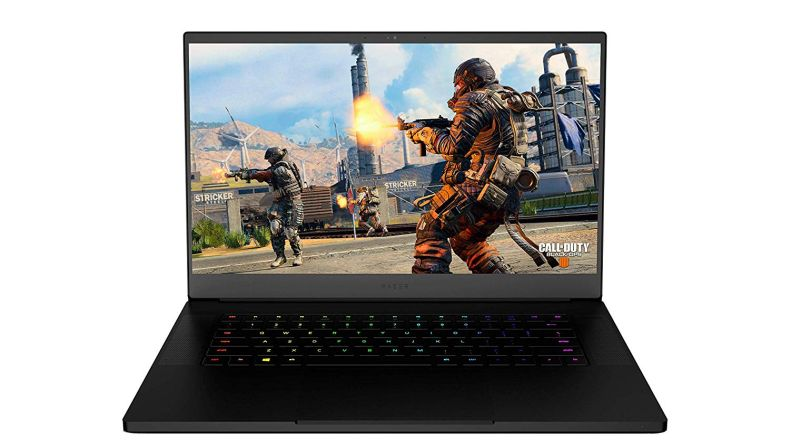 "Razer Blade 15: World's Smallest 15.6"" Gaming Laptop - 60Hz Full HD Thin Bezel - 8th Gen Intel Core i7-8750H 6 Core - NVIDIA GeForce GTX 1060 Max-Q - 16GB RAM - 256GB SSD - Windows 10 - CNC Aluminum"