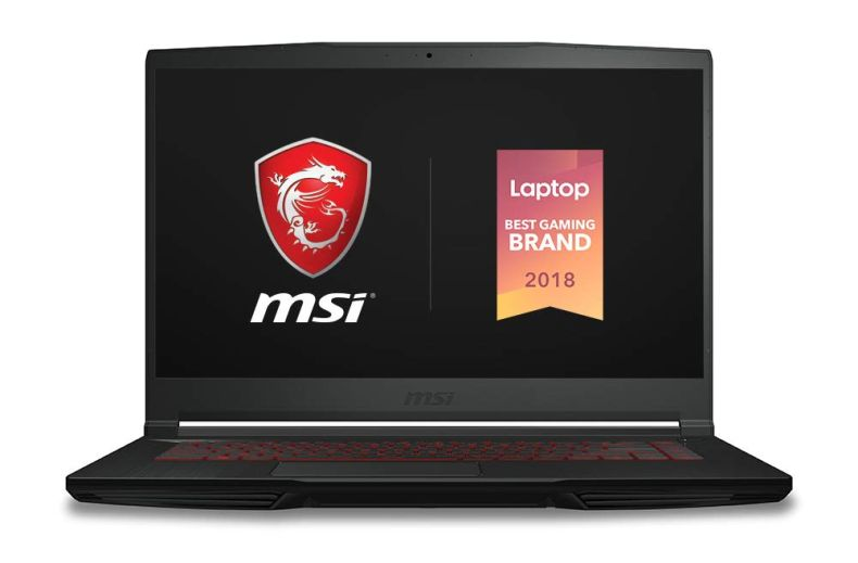 "MSI GF63 Thin 9SC-068 15.6"" Gaming Laptop, Thin Bezel, Intel Core i5-9300H, NVIDIA GeForce GTX1650, 8GB, 256GB NVMe NVMe SSD"