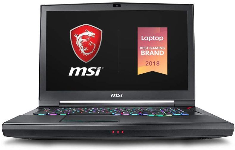 "MSI GT75 Titan 4K-247 17.3"" Gaming Laptop, 4K G-Sync Display, Intel Core i9-9980HK, NVIDIA GeForce RTX2080, 64GB, 1TB NVMe SSD + 1TB HDD, Thunderbolt 3"