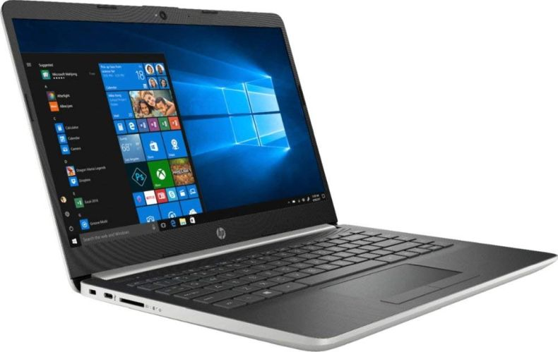"HP 14"" Laptop (Intel Pentium Gold 2.3GHz, Dual Cores, 4GB DDR4 RAM, 128GB SSD, Wi-Fi, Bluetooth, HDMI, Windows 10 Home) (Ash Silver) (14-CF0012DX)"