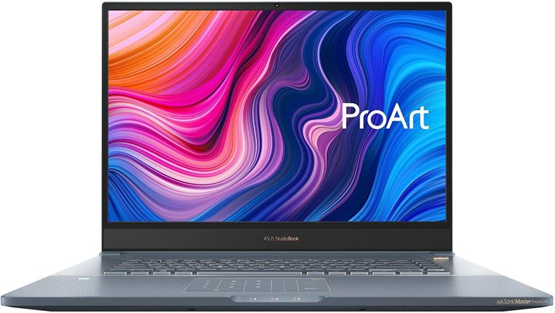 "CUK ASUS ProArt StudioBook Pro 17 Mobile Workstation Laptop (Intel i7-9750H, 32GB RAM, 1TB NVMe SSD, NVIDIA Quadro RTX 3000 6GB, 17"" WUXGA, Windows 10 Professional) Business Notebook Computer"