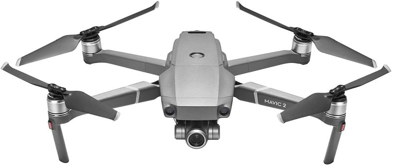 "DJI Mavic 2 Zoom - Drone Quadcopter UAV with Optical Zoom Camera 3-Axis Gimbal 4K Video 12MP 1/2.3"" CMOS Sensor, up to 48mph, Gray"