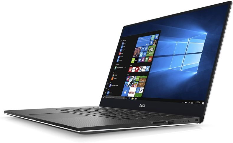 """Dell XPS9560-5000SLV-PUS 15.6"""" Ultra Thin and Light Laptop with 4K Touch Display, 7th Gen Core i5 ( up to 3.5 GHz), 8GB, 256GB SSD, Nvidia Gaming GTX 1050, Aluminum Chassis"""