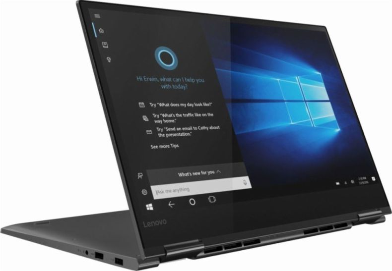 "Lenovo Yoga 730 2-in-1 15.6"" FHD IPS Touch-Screen Laptop, Intel i5-8250U, 8GB DDR4 RAM, 256GB PCIe SSD, Thunderbolt, Fingerprint Reader, Backlit Keyboard, Built for Windows Ink, Win10"