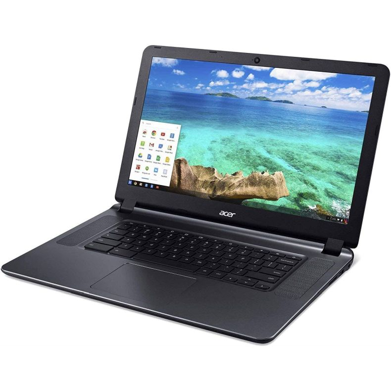 "Newest Acer CB3-532 15.6"" HD Chromebook with 3x Faster WiFi, Intel Dual-Core Celeron N3060 up to 2.48GHz, 2GB RAM, 16GB SSD, HDMI, USB 3.0, Webcam, 12-Hours Battery, Chrome OS"