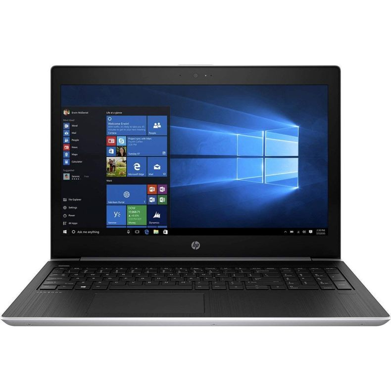 "HP ProBook 450 G5 15.6"" Full HD (1920x1080) Business Laptop - 8th Gen Intel Quad-Core i7-8550U, 1TB HDD, 8GB DDR4, Backlit Keys, USB 3.1 Type-C, HDMI, RJ-45, Bluetooth, Webcam, Windows 10 Professional"