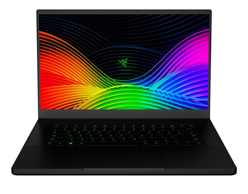 "Razer Blade 15 Gaming Laptop 2019 - Intel Core i7-9750H 6 Core, GeForce RTX 2060, 15.6"" FHD 1080p 144Hz, 16GB RAM, 512GB SSD, CNC Aluminum, Chroma RGB Lighting, Thunderbolt 3 Compatible"