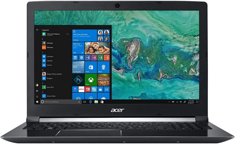 "Acer Aspire 7 15.6"" FHD IPS Gaming Laptop Computer,, 8th Gen Intel Hexa-Core i7-8750H Up to 4.1GHz, 32GB DDR4 RAM, 1TB HDD + 512GB SSD, NVIDIA GeForce GTX 1050 4GB, Fingerprint Reader, Windows 10"