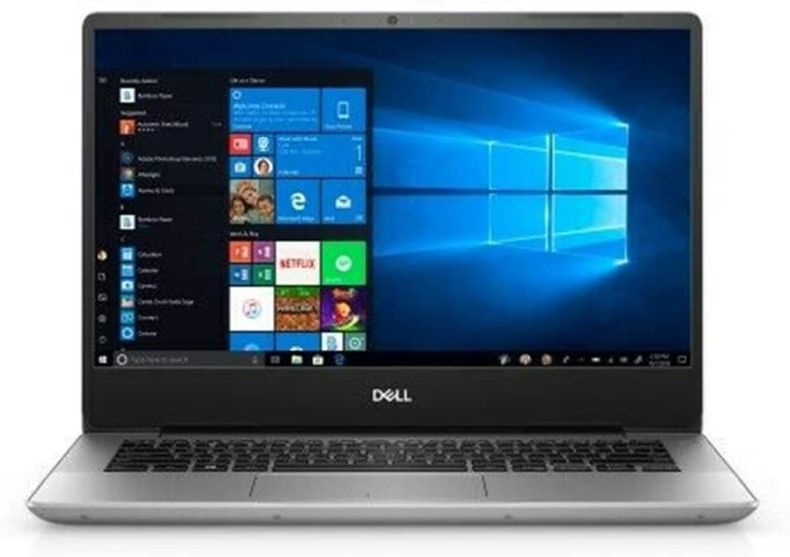 "Dell Inspiron 5000 14"" FHD Laptop Computer, AMD Ryzen 5 3500U Quad-Core Up to 3.7GHz, 24GB DDR4 RAM, 256GB PCIe SSD, 802.11ac WiFi, Bluetooth, USB Type-C, HDMI, Platinum Silver, Windows 10 Home"