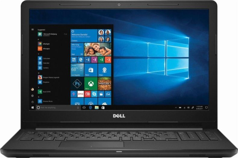 Dell Newest Touchscreen 15.6 Inch HD Flagship Premium Inspiron Laptop PC, Intel Core i5-7200U Dual-Core, 8GB DDR4, 2TB HDD, WIFI, MaxxAudio, Windows 10, Black