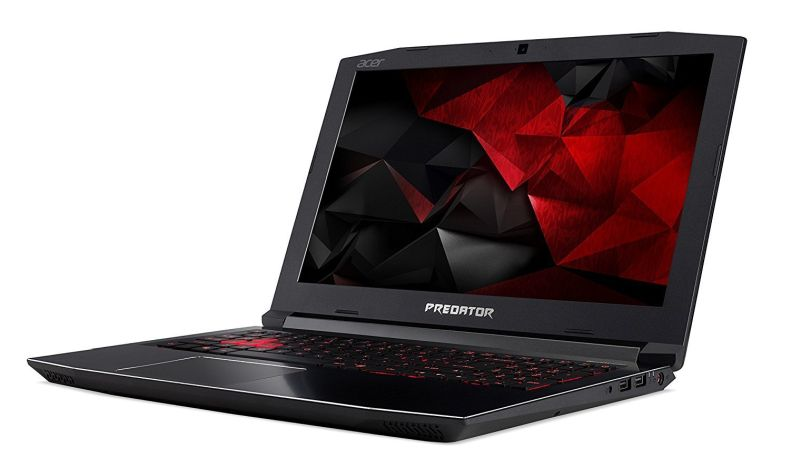 "Acer Predator Helios 300 15.6"" Full HD Gaming Flagship Premium Laptop PC, Intel Core i7-7700HQ, NVIDIA GeForce GTX 1060, 32GB RAM, 256GB SSD, MicroSD Card Reader, Backlit Keyboard, Windows 10"