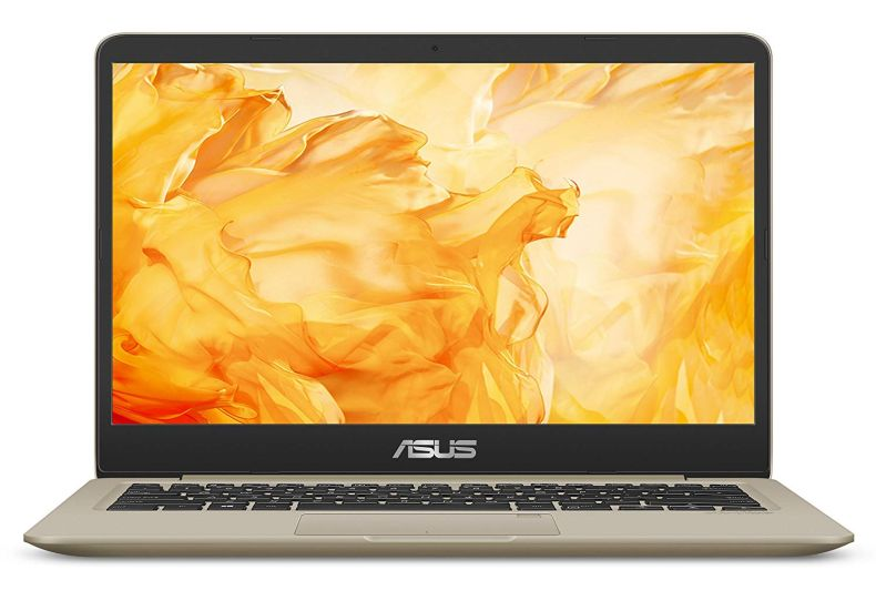 "ASUS VivoBook S Thin & Light Laptop, 14"" FHD, Intel Core i7-8550U, 8GB RAM, 256GB SSD, GeForce MX150, NanoEdge Display, Backlit Kbd, FP Sensor - S410UN-NS74"