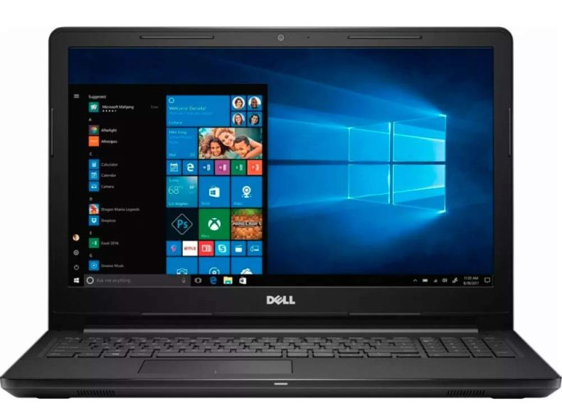 "Dell I3567-3380BLK-PUS Inspiron 15 3000 Laptop, 15.6"" Screen, Intel Core i3, 8GB RAM, 1TB HD, Windows 10 Home"
