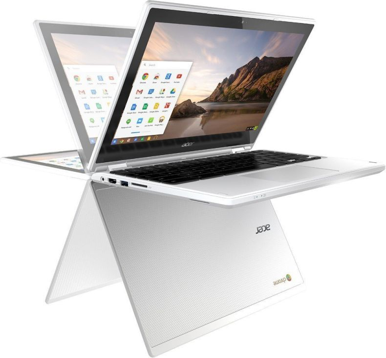 "Newest Acer R11 11.6"" Convertible HD IPS Touchscreen Chromebook, Intel Celeron Dual Core up to 2.48GHz, 4GB RAM, 16GB SSD, 802.11ac, Bluetooth, HDMI, USB 3.0, Webcam, Chrome OS"