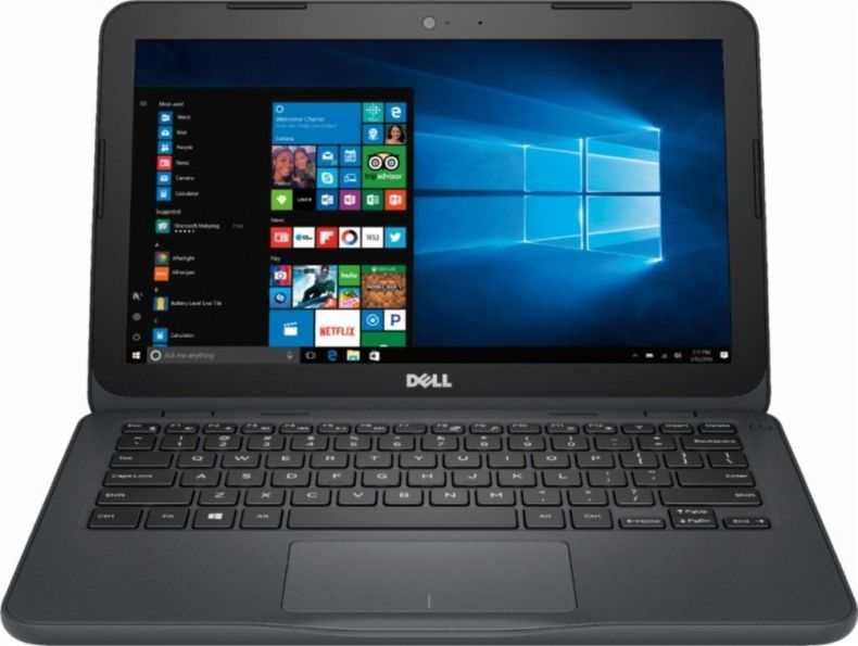Dell Inspiron Flagship High Performance Laptop, AMD A6-9220e accelerated processor 2.5GHz, 11.6 inch HD (1366 X 768) Display, 4GB DDR4 SDRAM, 32GB eMMC Flash Memory, Windows 10 (Gray)