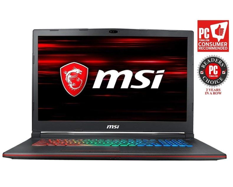 "MSI GP73 Leopard-609 (8th Gen Intel Core i7-8750H, 8GB DDR4 2666MHz, 1TB HDD, NVIDIA GeForce GTX 1060 6GB, 17.3"" Full HD 120Hz 3ms Display, Windows 10 Home) VR Ready Gaming Laptop"