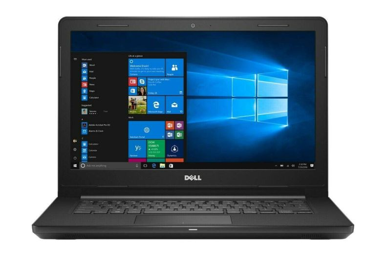 Latest_Dell Inspiron 14.0-inch HD Anti-Glare LED-Backlit High Performance Laptop,Intel Celeron Processor,4GB DDR4 RAM,32GB eMMC SSD, Wireless+Bluetooth,HDMI,Windows 10