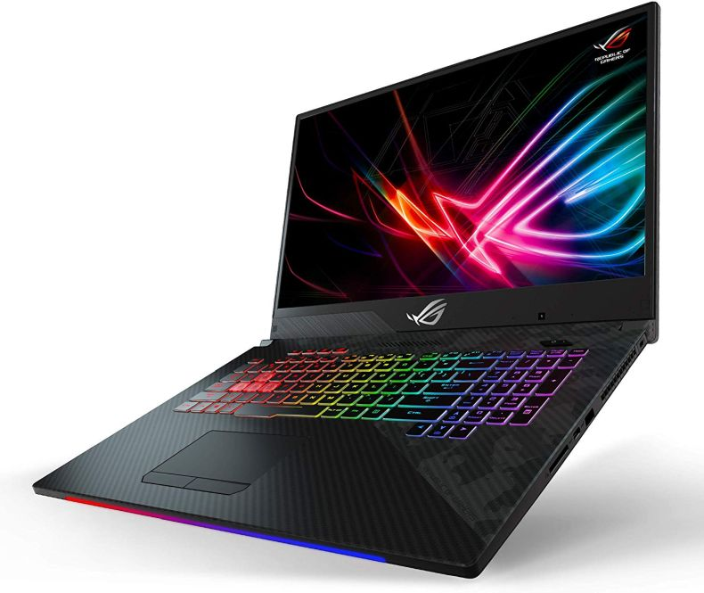 "Asus ROG Strix Scar II Gaming Laptop, 17.3"" 144Hz IPS-Type FHD, NVIDIA GeForce RTX 2070 8GB, Intel Core i7-8750H Processor, 16GB DDR4 RAM, 512GB PCIe SSD + 1TB SSHD, RGB KB, Windows 10 - GL704GW-DS76"
