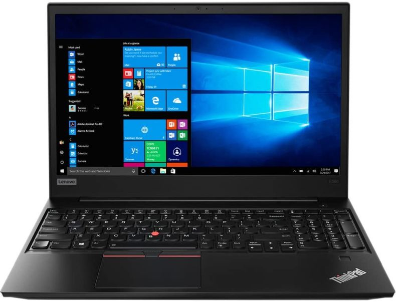 "Lenovo 15.6"" ThinkPad E580 High Performance Business Laptop (Intel 8th Gen i7-8550U Quad-Core, 32GB RAM, 1TB Sata SSD, 15.6"" FHD 1920x1080 Anti-Glare IPS Display, Fingerprint, Win 10 Pro)"
