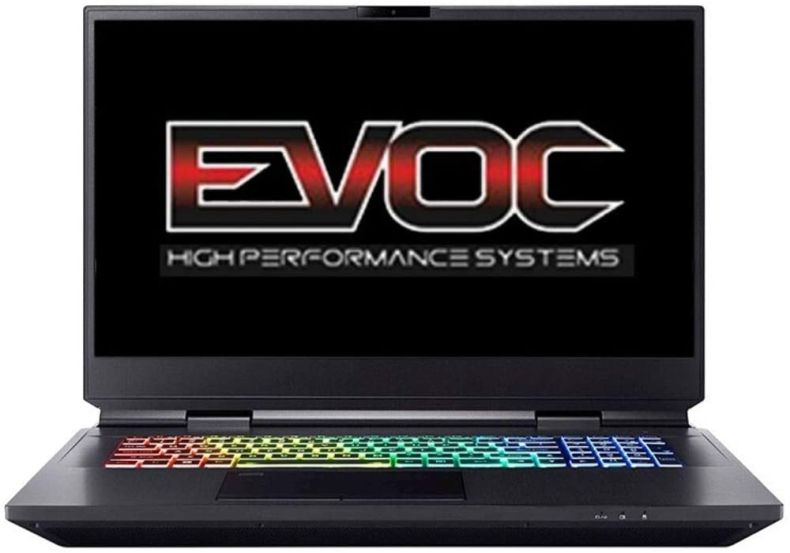 "EVOC High Performance Systems X1701J (X170SM-G) 17.3"" FHD 300Hz, 3.7 GHz i9-10900K, RTX 2080 Super, 128 GB 3200MHz RAM, 24 TB PCIe SSD"