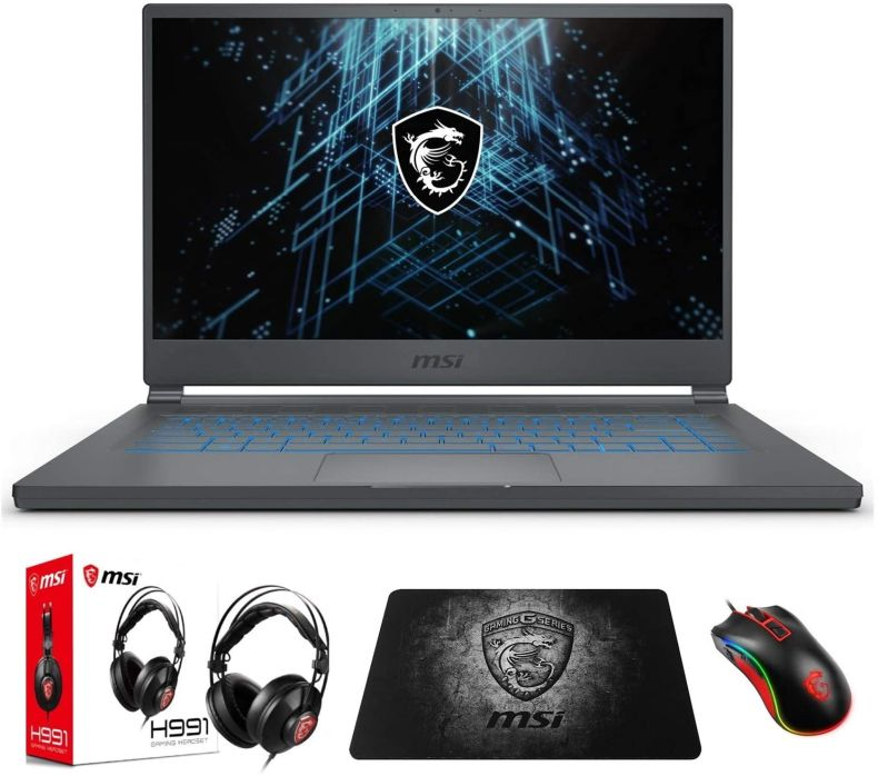 "MSI Stealth 15M A11SEK-062 (i7-1185G7, 16GB RAM, 512GB NVMe SSD, RTX2060 6GB, 15.6"" FHD 144Hz, Windows 10) Gaming Notebook"