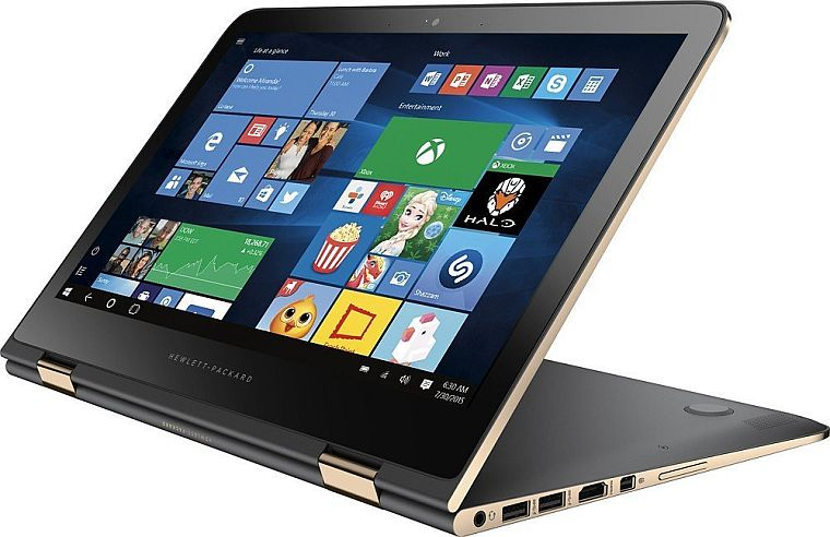 """HP Spectre X360 13-4116DX 13.3"""" 2.5GHz i7 16GB 512GB Touchscreen Notebook/Tablet (Certified Refurbished)"""