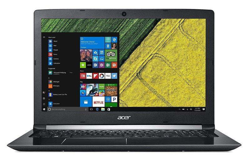 "Acer Aspire 5 15.6"" FHD Laptop Computer, 8th Gen Intel Quad Core i5-8250U 3.40GHz, GeForce MX150, AC WiFi, HDMI, Type C, Backlit KB, Windows 10, Choose Your RAM/Hard Drive up to 12GB DDR4, 512GB SSD"