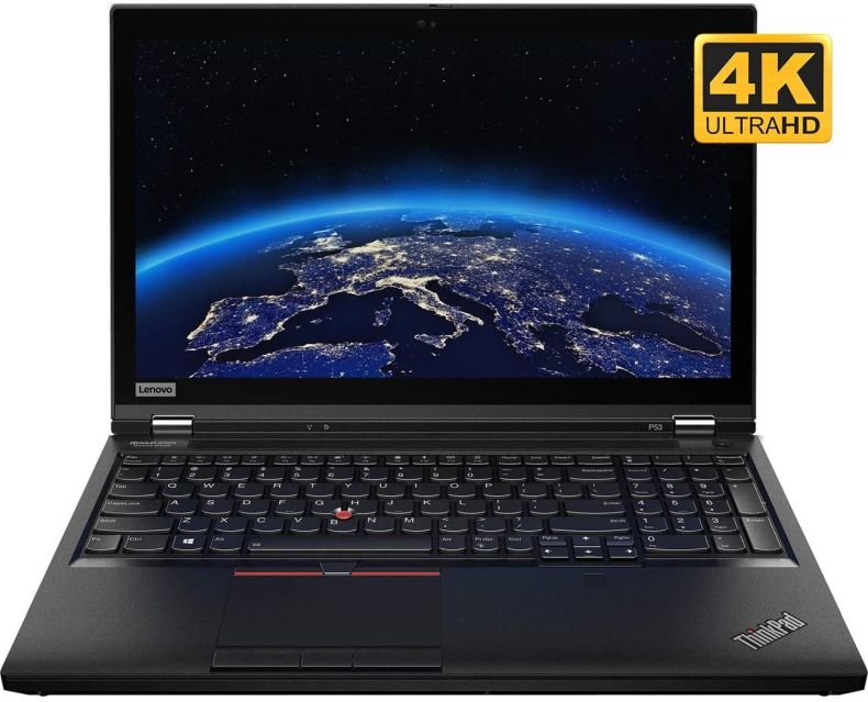 "Lenovo ThinkPad P53 Mobile Workstation Laptop (Intel i7-9750H 6-Core, 128GB RAM, 2TB PCIe SSD, Quadro T2000, 15.6"" 4K UHD (3840x2160), Fingerprint, WiFi, Win 10 Pro) with USB3.0 Hub"