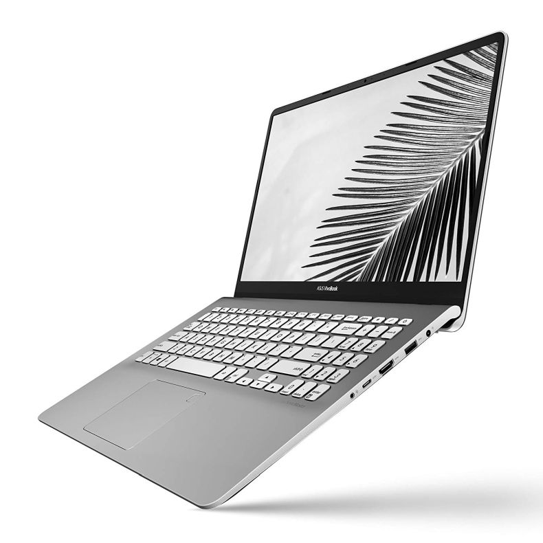 "ASUS VivoBook S15 15.6"" Slim and Portable Laptop, Intel Core i5-8250U Processor (up to 3.4Ghz), 8GB DDR4, 256GB SSD, NanoEdge Bezel, Gun Metal with Light Grey Trim, S530UA-DB51"