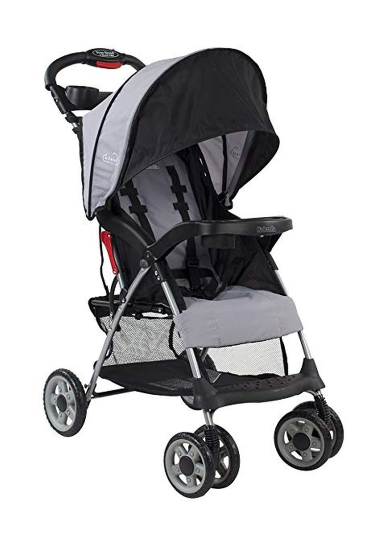 For parents retiring the bulky travel system stroller or looking for something more travel-friendly, the Cloud Plus Lightweight Stroller is the best of both worlds. At just under 12 pounds, it has all of the must-have full-size stroller features but in a smaller, more nimble design with an ultra-compact fold.