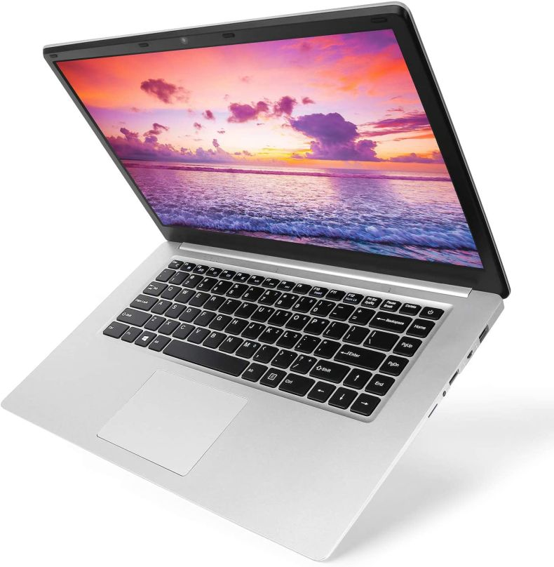 15.6 inch Laptop Notebook Computer PC, Windows 10 Pro OS Intel Celeron Quad-core CPU 8GB RAM 118GB SSD Storage with RJ45 Port WiFi HDMI BT4.0