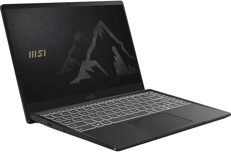 "MSI Summit B14 A11M-076 (i7-1165G7, 16GB RAM, 1TB NVMe SSD, Intel Iris Xe, 14"" Full HD, Windows 10 Pro) Creative Professional Laptop"