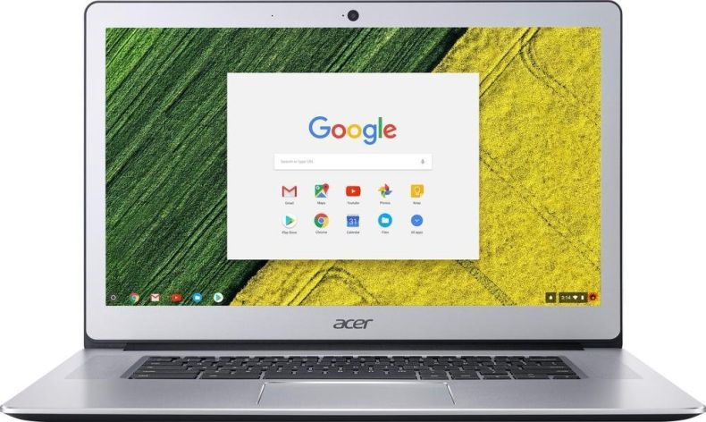 """Acer 15.6"""" FHD IPS Touch-Screen Chromebook-Intel Quad Core N4200 up to 2.5 GHz, 4GB RAM, 32GB SSD, Webcam, WIFI, Bluetooth, Chrome OS-Aluminum Chassis"""