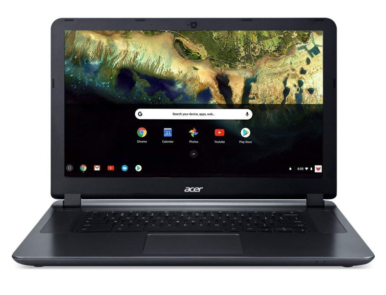 "Acer Chromebook 15 CB3-532-C4ZZ, Celeron N3060, 15.6"" HD, 4GB LPDDR3, 32GB Storage, Google Chrome"