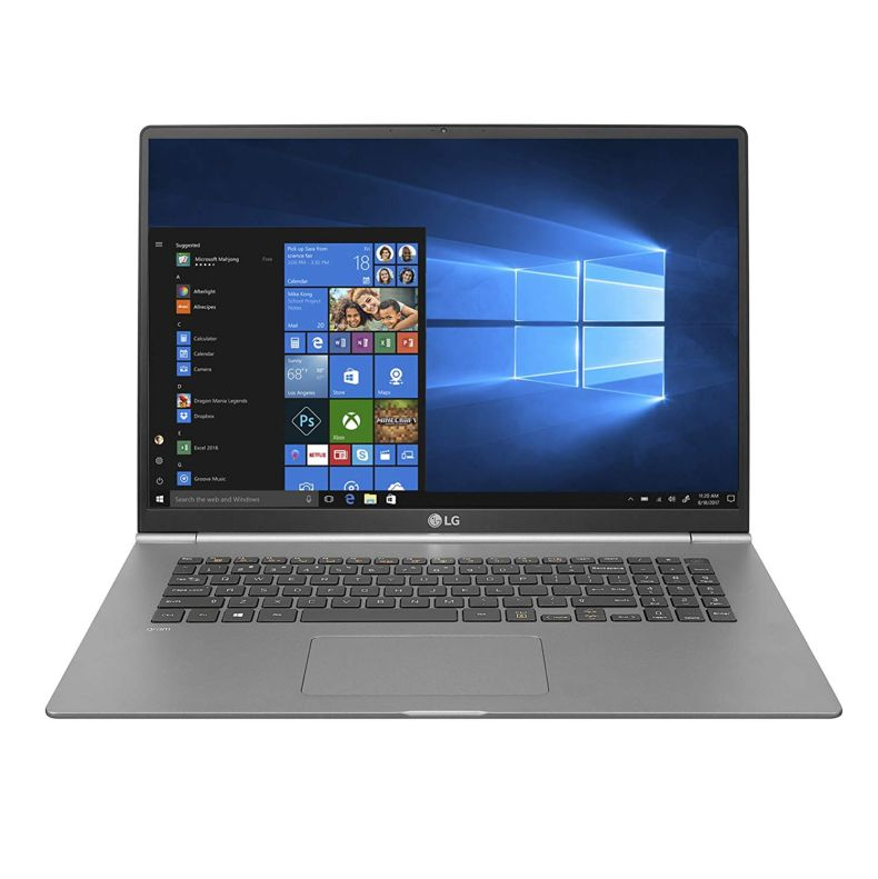 "LG Gram Thin and Light Laptop - 17"" WQXGA (2560 x 1600 - 16:10 Aspect Ratio) IPS Display, Intel Core i7 (8th Gen), 16GB RAM, 512GB SSD, 72Wh Battery - 17Z990-R.AAS8U1 (2019)"