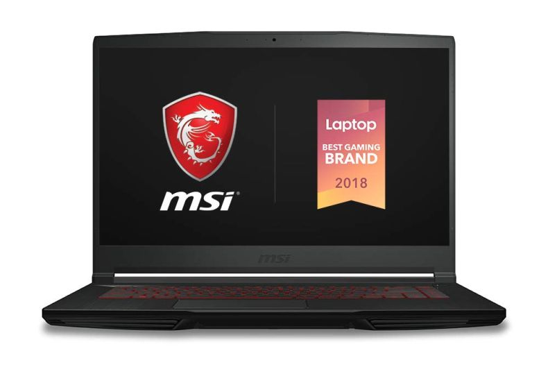 "MSI GF63 Thin 8SC-029 15.6"" Gaming Laptop, Thin Bezel, Intel Core i7-8750H, NVIDIA GeForce GTX1650, 16GB, 512GB NVMe SSD"